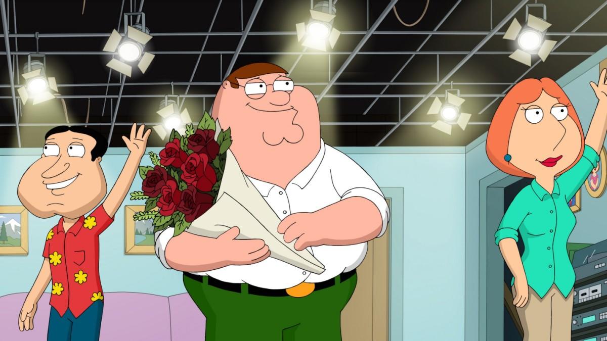 Facet z rodziny Peter uczy meg o randkach